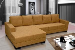 Sofá 3 Lugares com Chaise de Casal