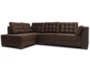 Sofá de Canto 5 Lugares 2,78m x 1,85m Chaise Lado Esquerdo - PROMOÇÃO VELUDO