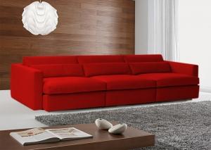 Sofá de 3 Lugares Retrátil